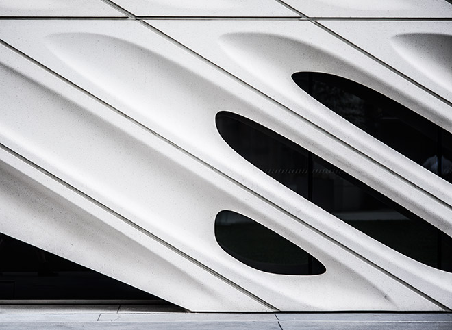 Broad museum in downtown Los Angeles by street fashion photographer, John Ussenko.