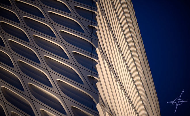 Broad museum in downtown los angeles photographed by lifestyle photographer, John Ussenko.