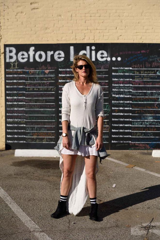Long Beach Fashion Shoot with photographer John Ussenko and model Janelle Carroll.