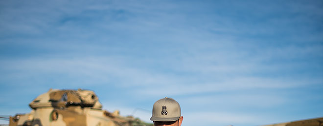 Psycho Bunny snapback by fashion photographer, John Ussenko.