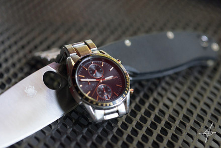 Watch by Michael Kors. Photo shoot with lifestyle photographer John Ussenko in southern California.