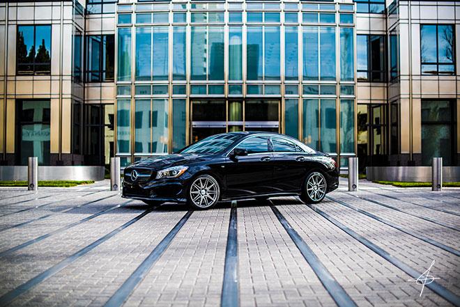 Mercedes Benz lifestyle photo shoot with edgy lifestyle photographer John Ussenko.