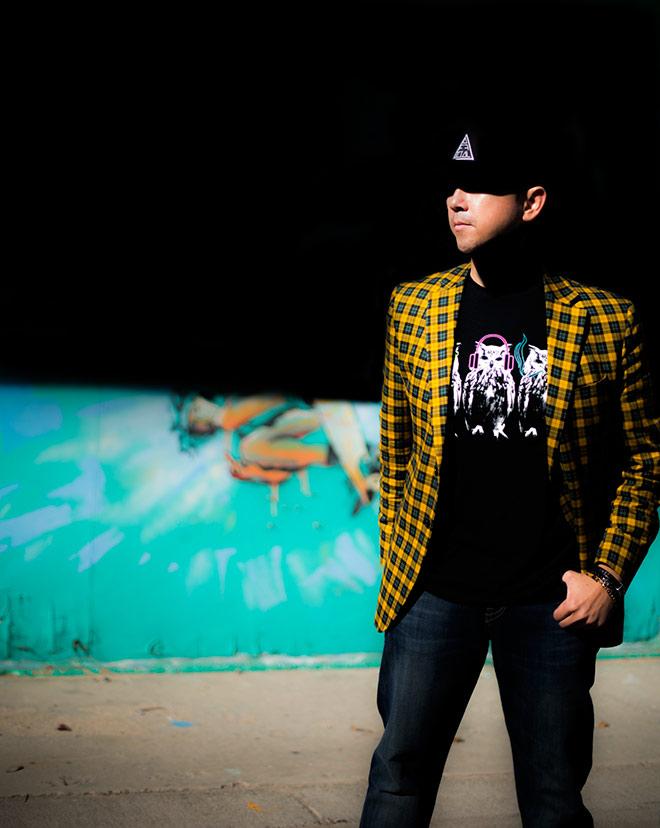 Simon Spurr and Body Rags fashion shoot with street fashion photographer, John Ussenko in Huntington Beach.